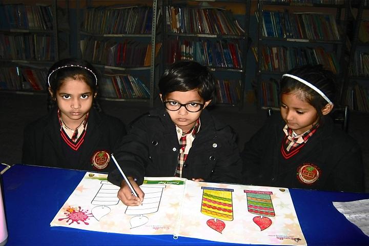 Fatima Leyan Public School-Library