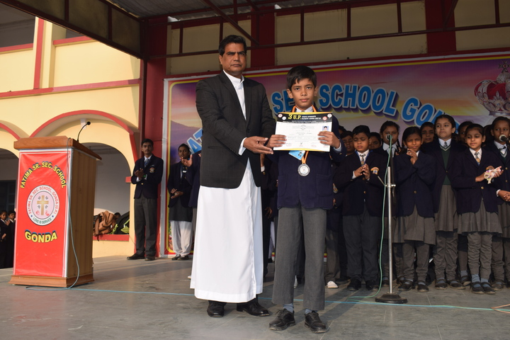 Fatima school-Gandhi Jayanthi Celebrations