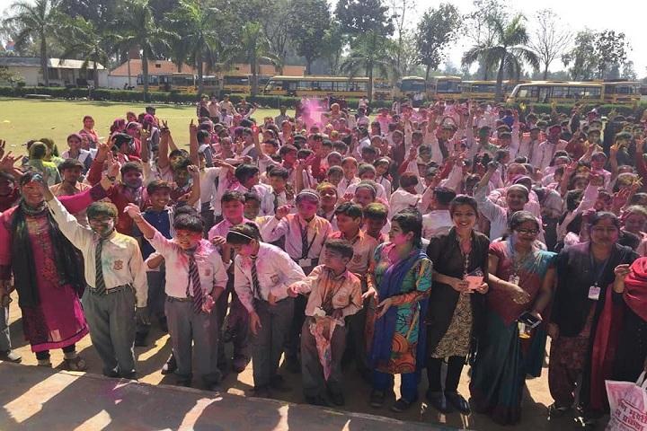 Florence Nightingale Public School-Holi Celebrations