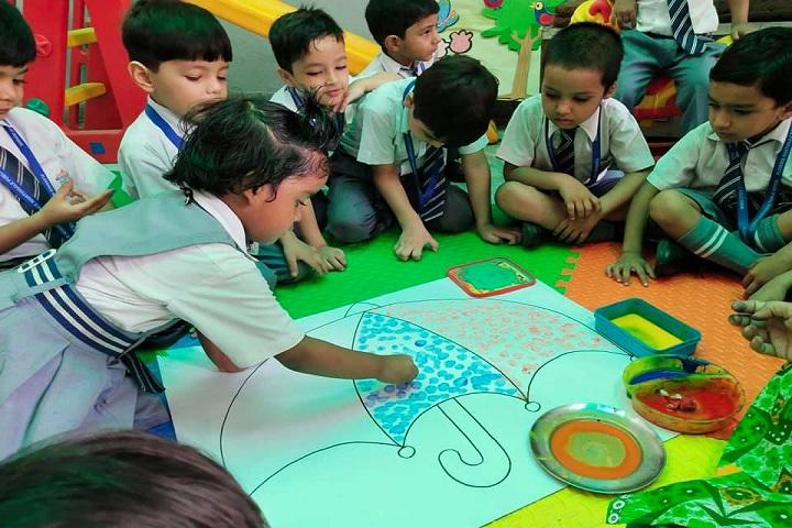 Florence Nightingale Public School-Painting Competation