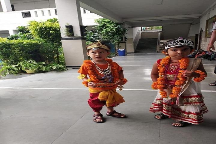 Florets International School-Krishnastami Celebrations