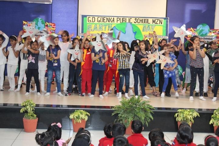G D Goenka Public School-Earth Day