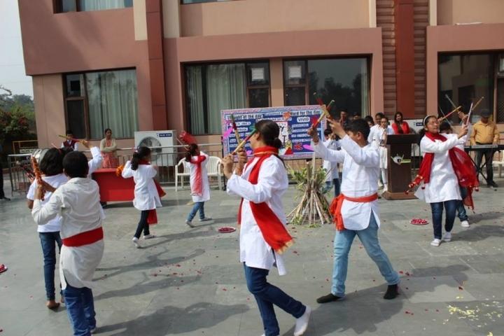 G D Goenka Public School-Holi Celebration