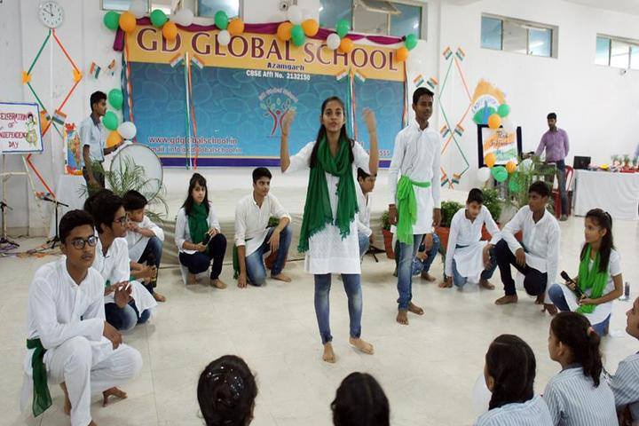 G D Global School-Independence Day Celebrations