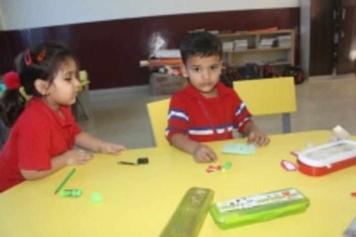 G D Goenka Public School-Book Mark Activity