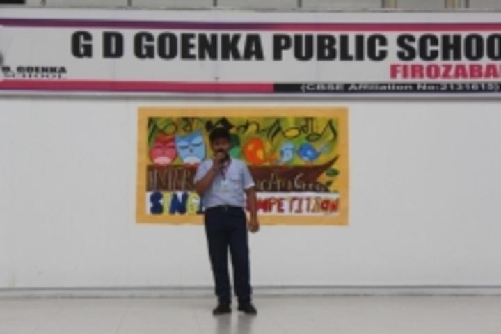 G D Goenka Public School-Singing Competetion