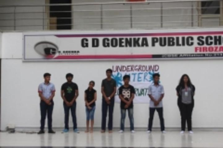 G D Goenka Public School-Underground Water Conservation