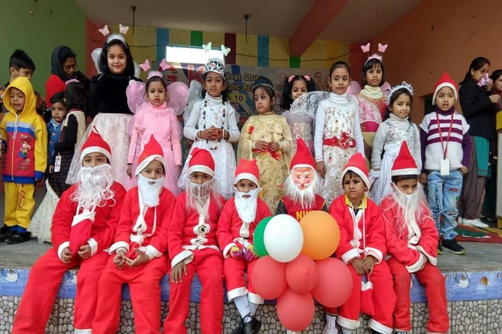 G k Silver Stone Public School-Christmas Celebrations