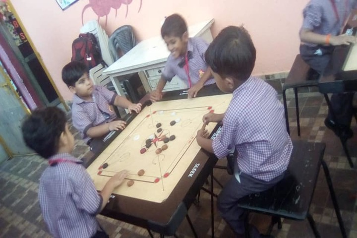G k Silver Stone Public School-Indoor Games