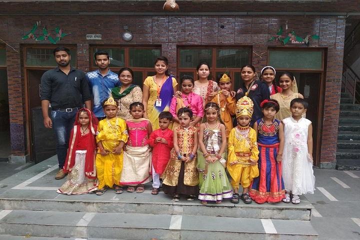 G L School-janmashtami Celebrations