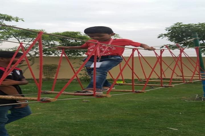 Gagan Public School-Bridge Crossing Game