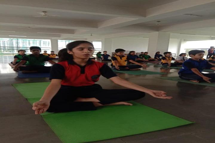 Gagan Public School-Yoga