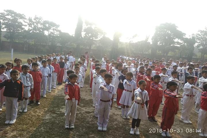 Gandhi International Public School-Assembly