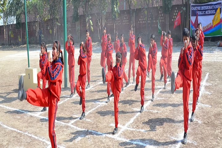 Gandhi International Public School-Karate