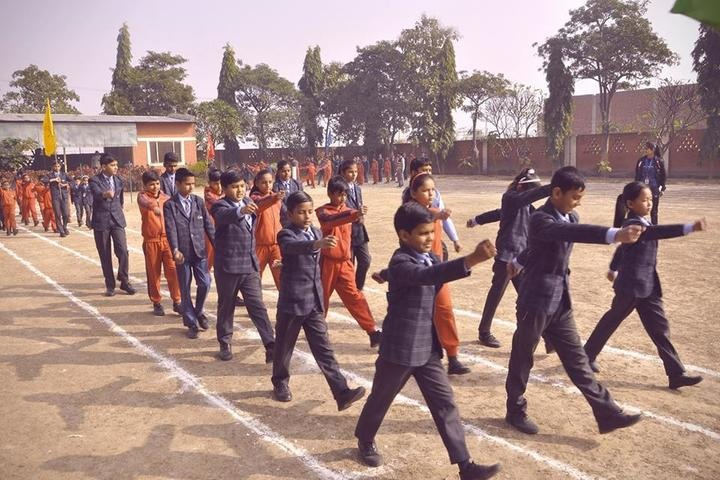 Gandhi International Public School-March Past