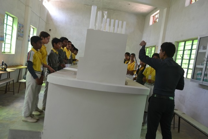 Gandhi Memorial School-Chemistry Lab