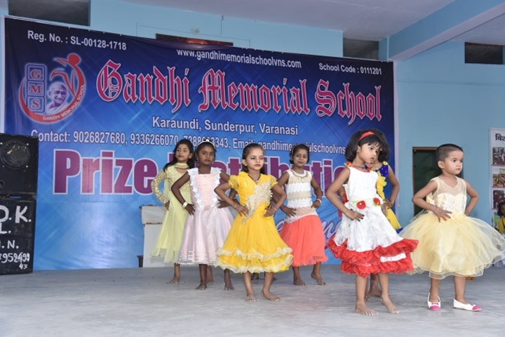 Gandhi Memorial School-Dance Competition