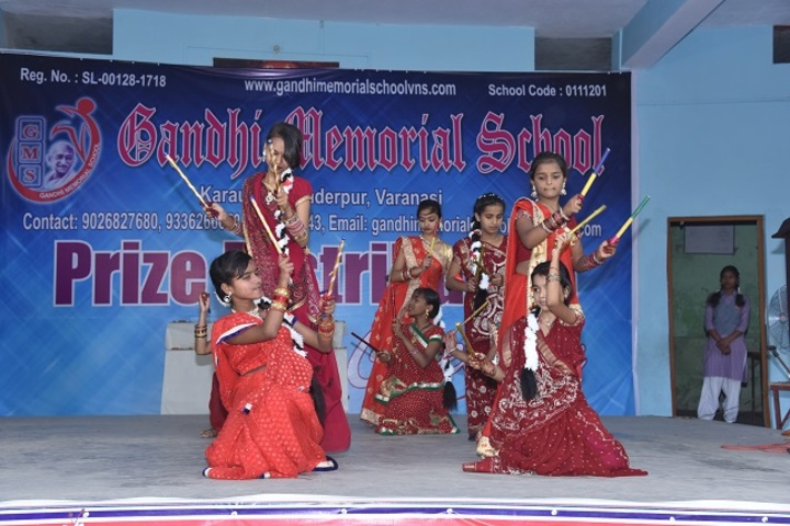 Gandhi Memorial School-Group Dance