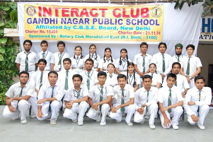 Gandhi Nagar Public School-Interact Club