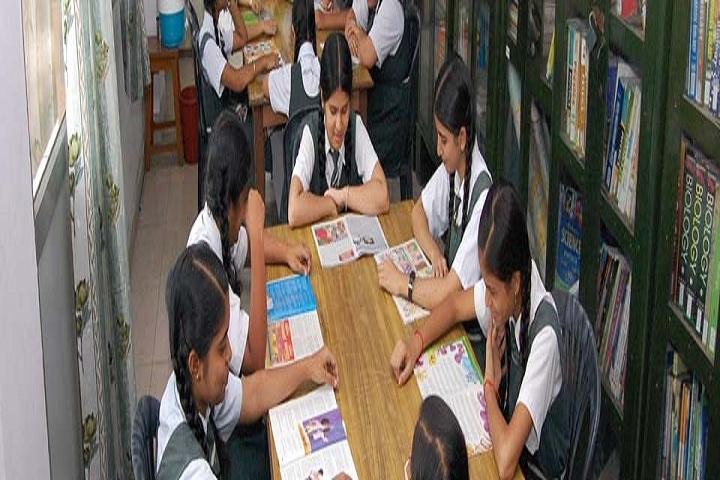 Gandhi Nagar Public School-Library