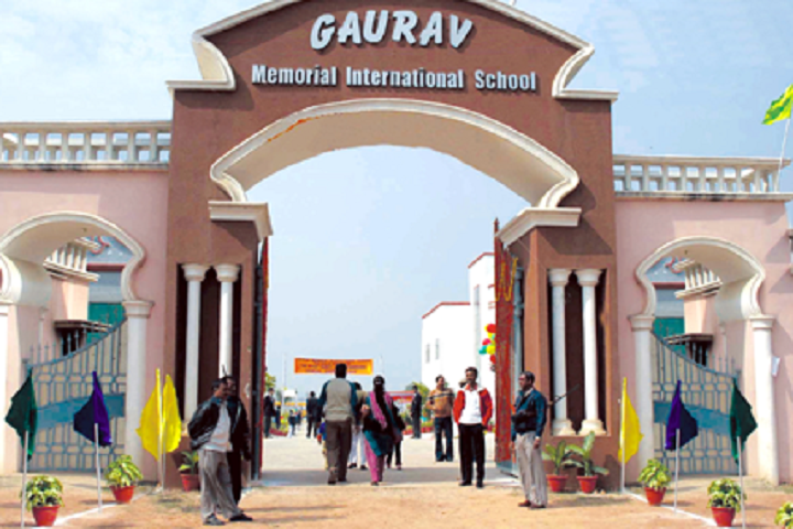 Gaurav Memorial International School-Campus Entrance