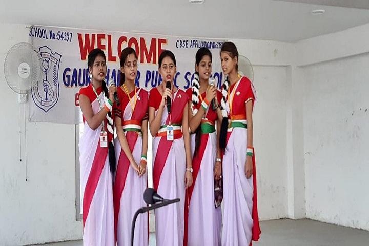 Gauri Shankar Public School-Singing Competition