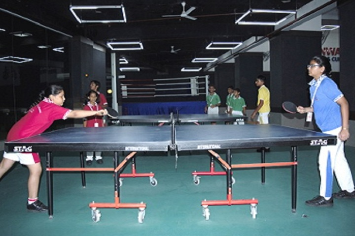 Gaurs International School-Badminton Court