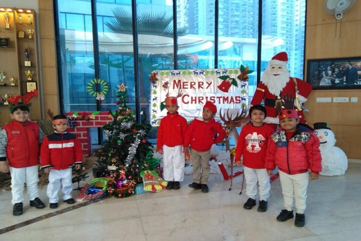 Gaurs International School-Christmas Celebrations