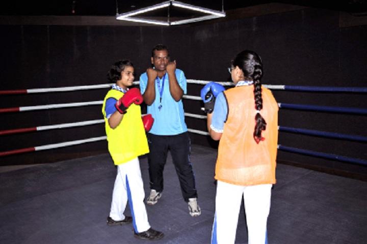 Gaurs International School-Table Tennis