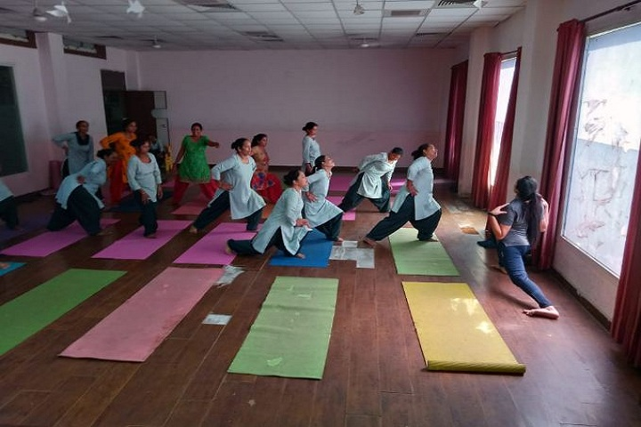 Gd Goenka Public School-Yoga Day