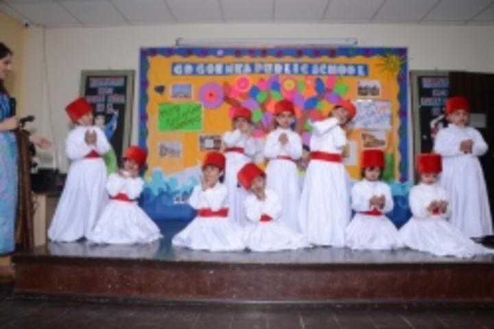 Gd Goenka Public School-Class Presentation by Pre Nursery and Nursery Students
