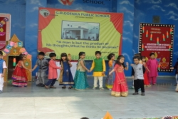 Gd Goenka Public School-Diwali Celebration