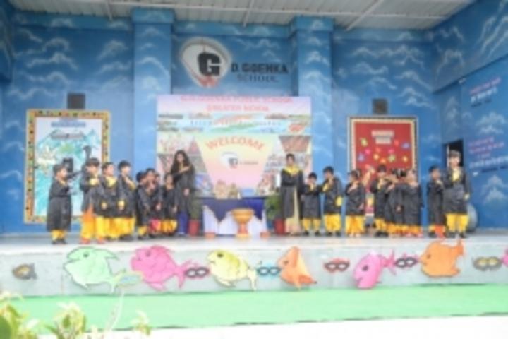 Gd Goenka Public School-Graduation day of KG students