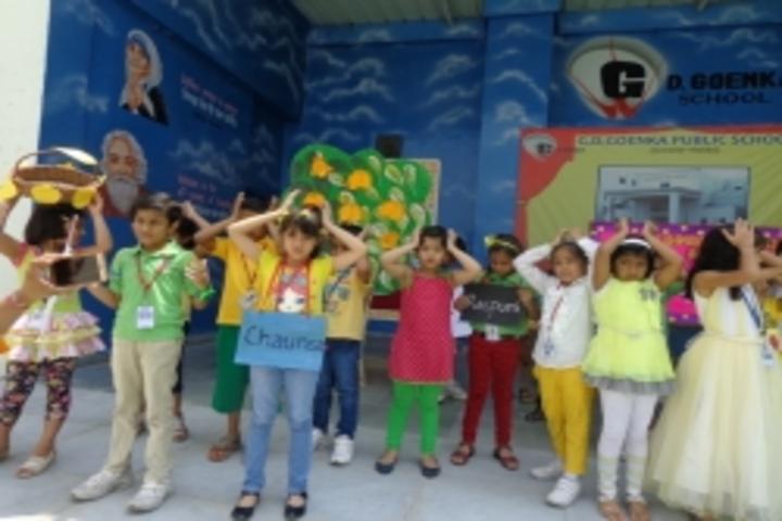 Gd Goenka Public School-Mango Week