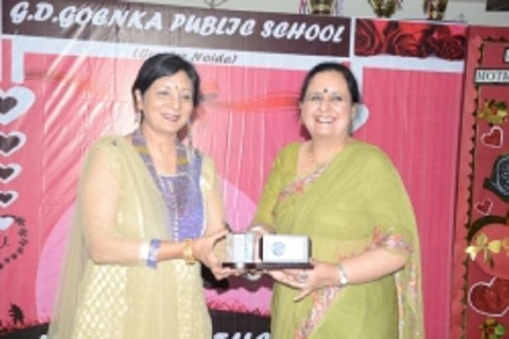 Gd Goenka Public School-Mothers day celebrations