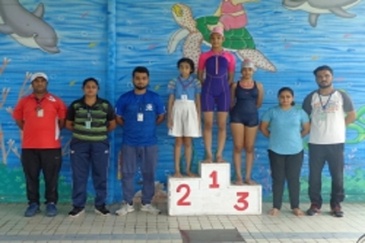 Gd Goenka Public School-Swimming competition  winner