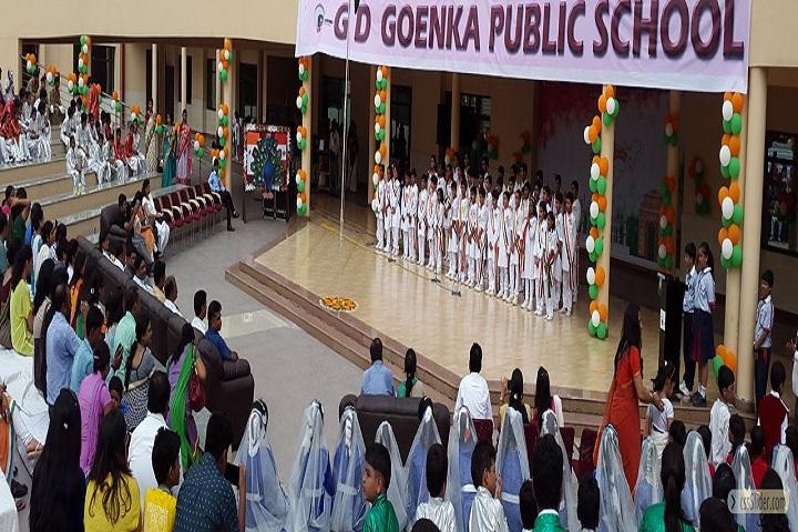 Gd Goenka Public School-Independence Day
