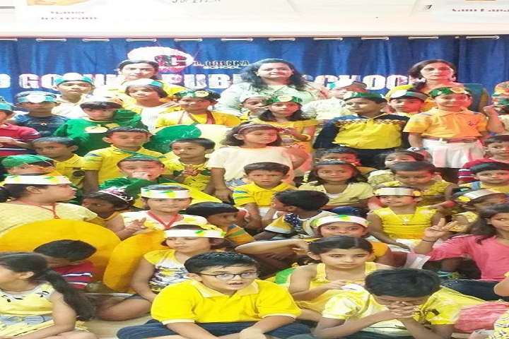 Gd Goenka Public School-Mango Day