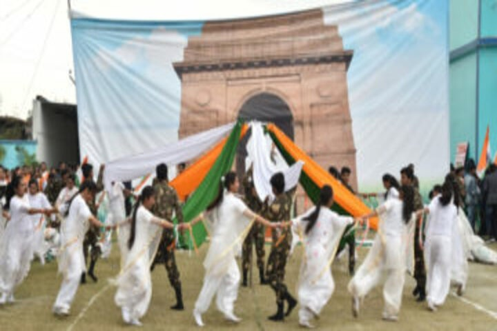 Geeta International Public School-Republic Day Celebrations