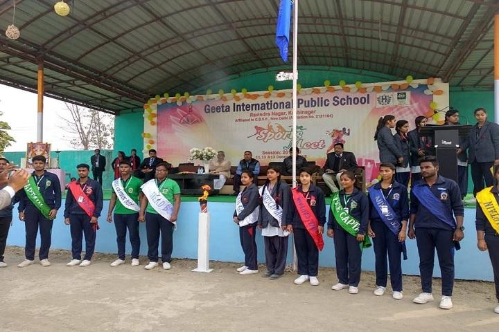 Geeta International Public School-Sports Day