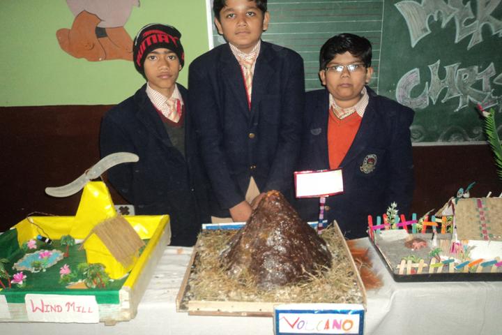 Geetagyan Sanskar Academy-Science Exhibition