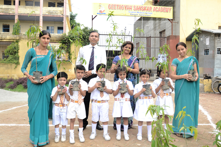 Geetagyan Sanskar Academy-Tree Plantation
