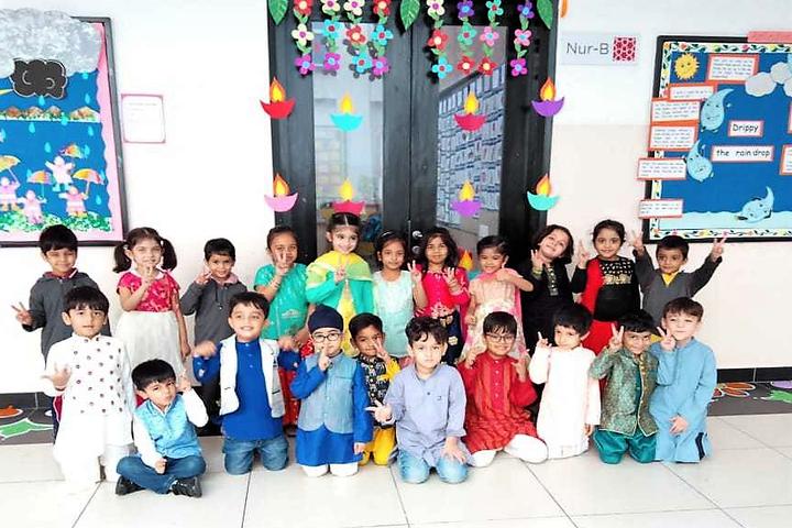 Genesis Global School-Diwali At GGS
