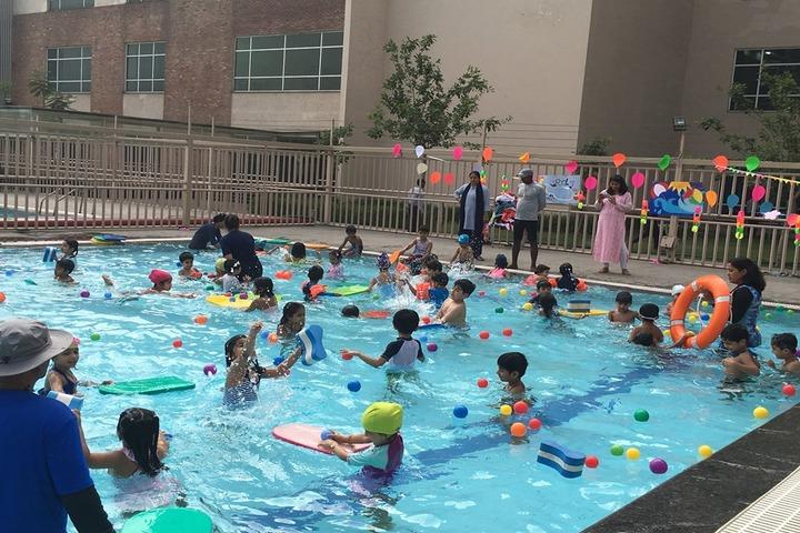 Genesis Global School-Swimming Pool