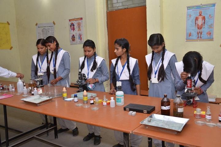 Genius Public Inter College-Biology Lab