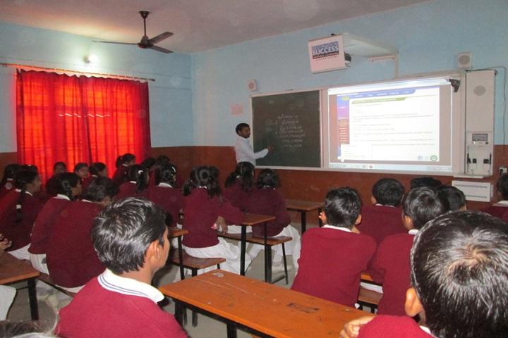 Genius Public Inter College-Classroom
