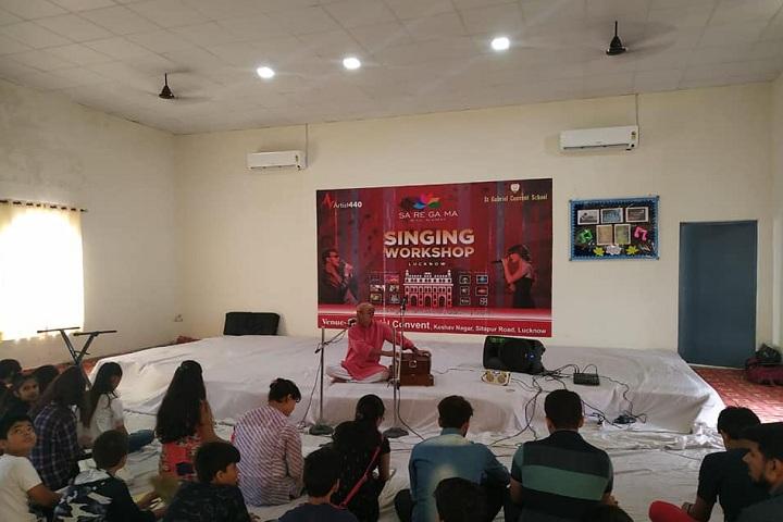 St Gabriels Convent School-Singing