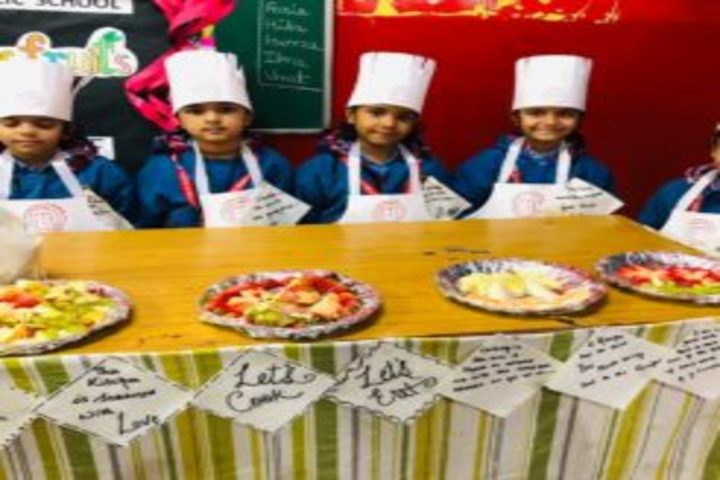 Ghaziabad Public School-Cooking Activity