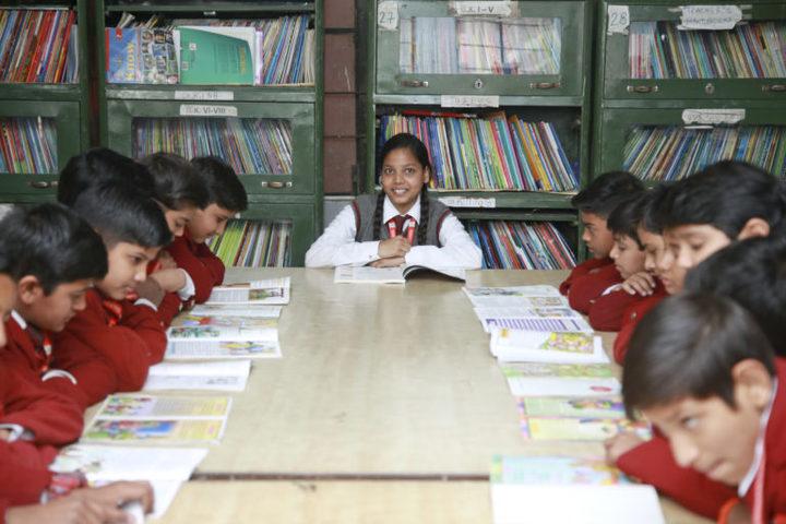 Ghaziabad Public School-Library