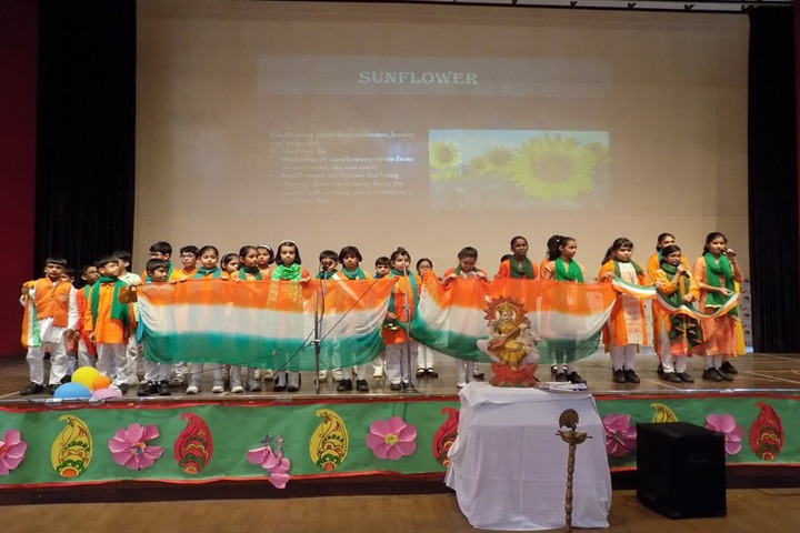Global Indian International School-Independence Day Celebrations